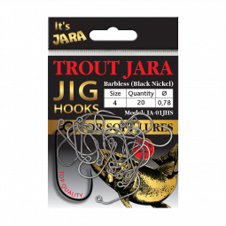 Trout Jara Jig Hooks JA-01JHS #4