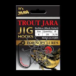 Trout Jara Jig Hooks JA-01JHS #6