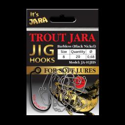 Trout Jara Jig Hooks JA-01JHS #8